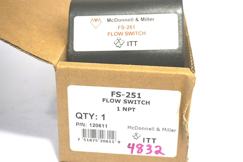 FS251 FLOW SWITCH 1'' #120611 by ITT McDonnell Miller (Image #3)