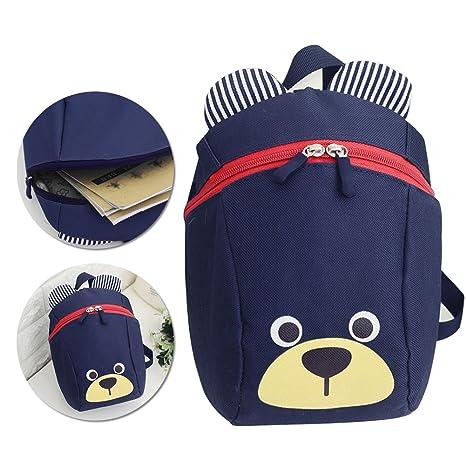 3D Cartoon Kids Harness Backpack, Vandot Anti-lost Leash Safety Strap School  Bag Walking bd7094fb18