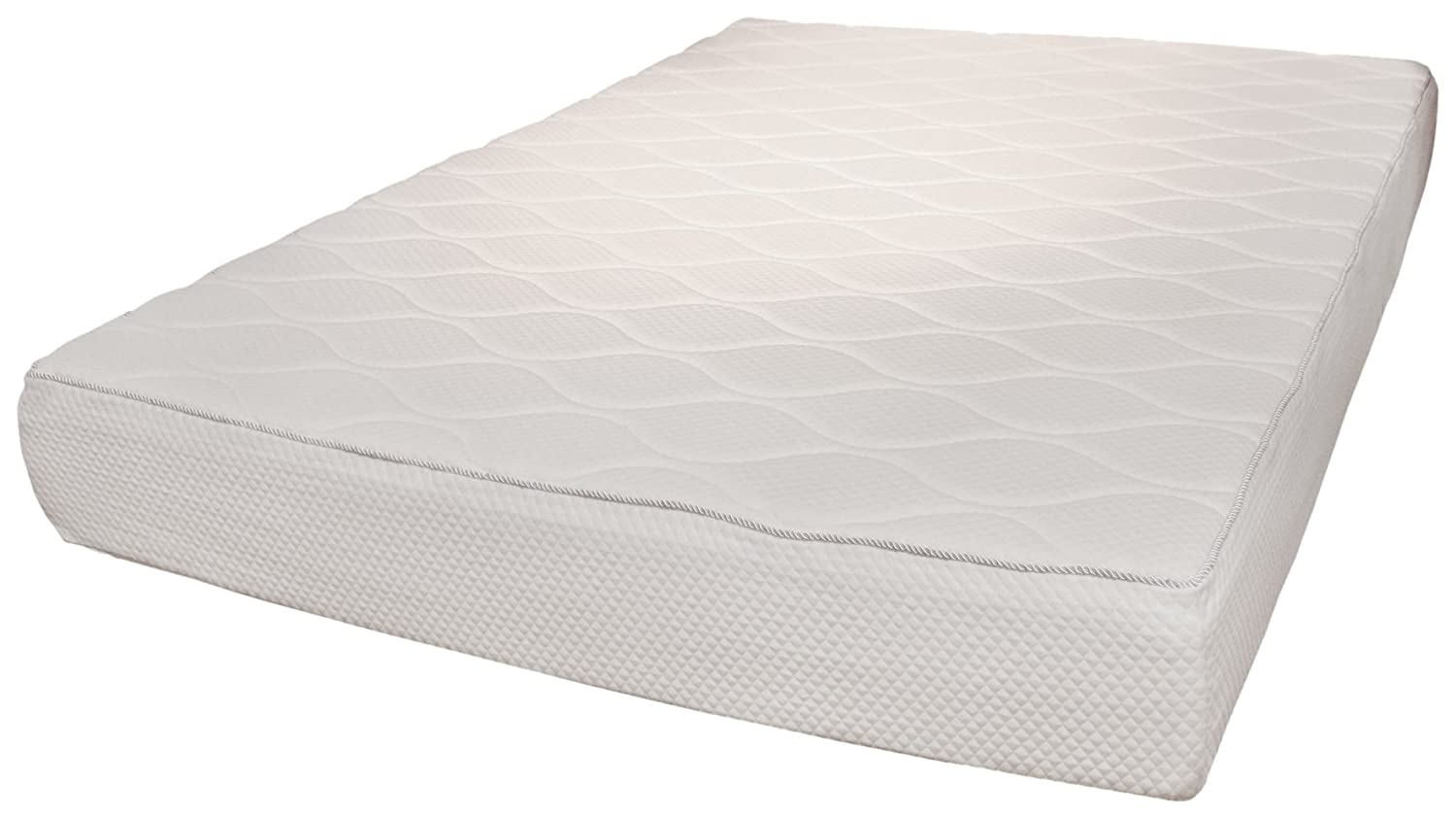 Rio Home Fashions 10-Inch Top Quilted Memory Foam Mattress