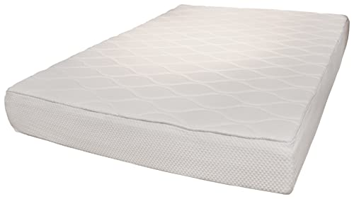 Rio Home Fashions 10-Inch Top Quilted Memory Foam Mattress, King