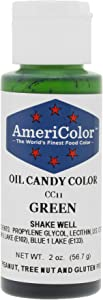 Americolor Candy Oil - GREEN 2 OUNCE CANDY OIL COLOR