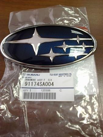 Parrilla Rejilla Frontal Subaru FORESTER OEM Genuino Emblema 2009-2012