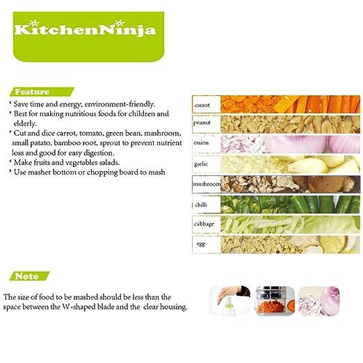 Compra Kitchenninja Picador Cebolla Manual Picadora ...