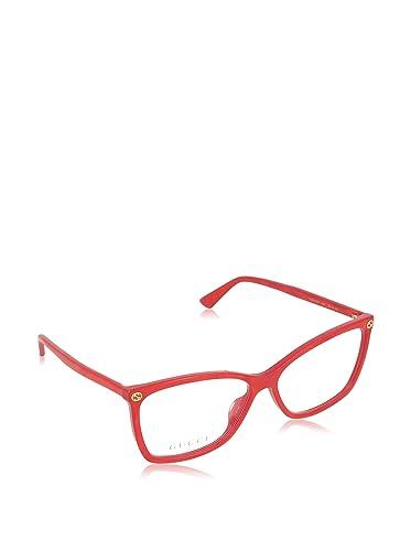 Gucci Montatura 0025O_004 (56 mm) Rosso
