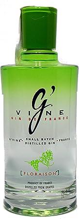 Gin de color claro,Puro, ligeramente dulce, notas de jengibre en la nariz,Suave, floral, notas de en