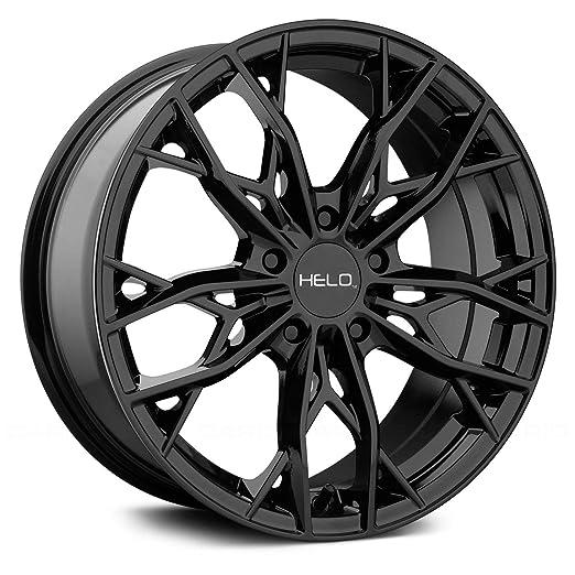 Amazon Com Helo He907 Gloss Black Wheel Chromium Hexavalent