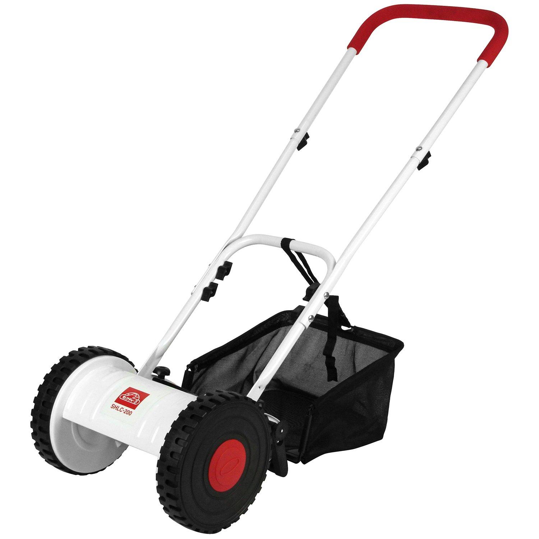 セフティー3 手動式芝刈機 おすかる 刈り幅200mm 刈高4段階調整可能 SHLC-200 B01EIXV4YK