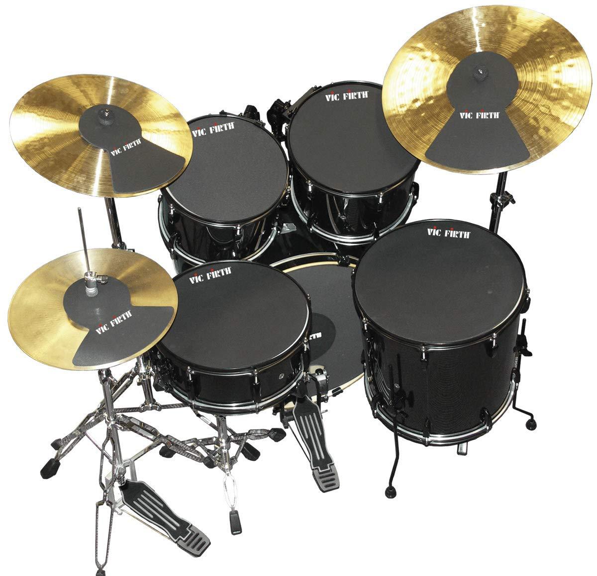 """Vic Firth Vic Firth Mute Prepack w/ 10"""", 12"""", 14"""", 16, 22, Hi-Hat And Cymbal (2)"""