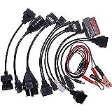OBD2 Câble d'adaptateur pour Autocom CDP Pro voitures Interface de Diagnostic Scanner,Haute Qualité Facile à Utiliser(8 PCS)