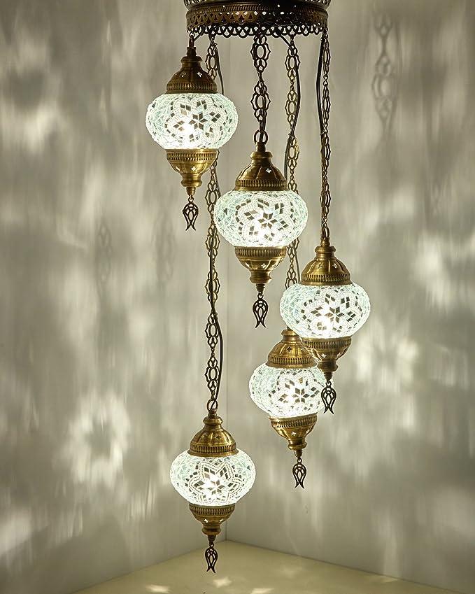 Amazon.com: (Elige 12 diseños) Turco mosaico marroquí araña ...
