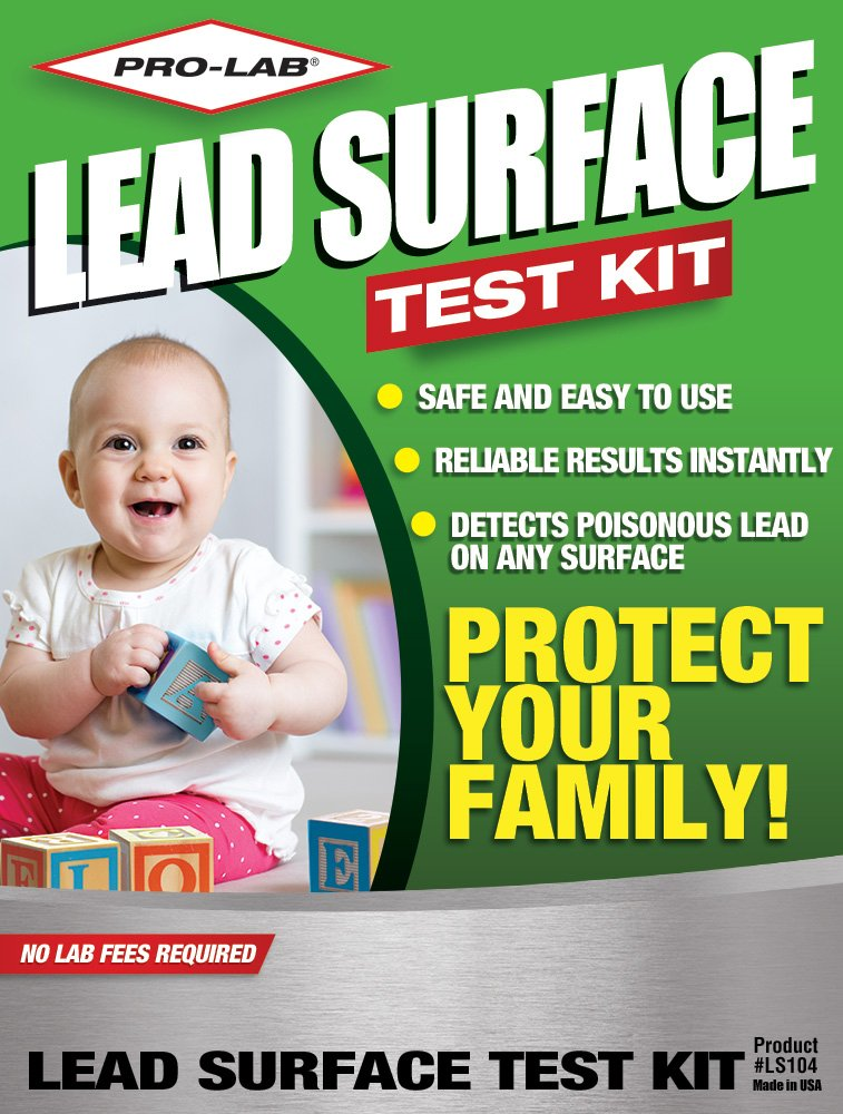 PRO LAB Lead Surface Do It Yourself DIY Test Kit LS104