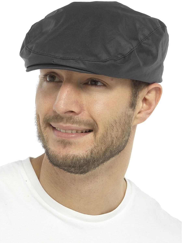 Gorra estilo boina para hombre con forro de cuadros escoceses, de ...