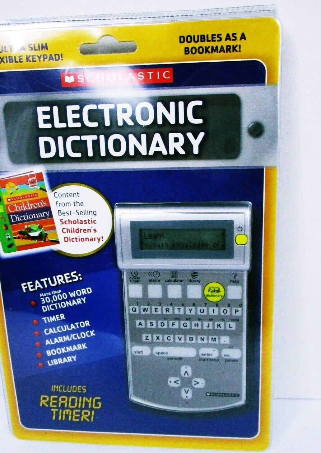 Electronic Dictionary Ultra Slim Flexible Keypad Bookmark New Sealed
