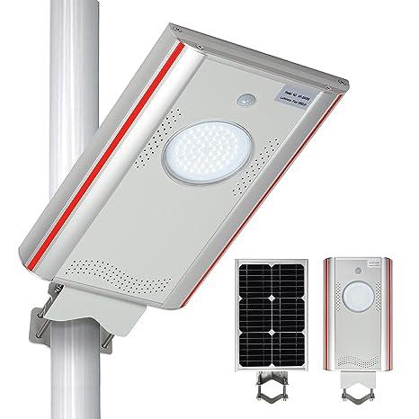 TSSS 1,800lm al aire libre impermeable LED luz de calle Solar luz – lámpara de