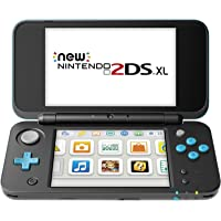 Deals on Nintendo 2DS XL Console Black and Turquoise Refurb