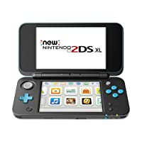 New Nintendo 2DS XL - Black + Turquoise