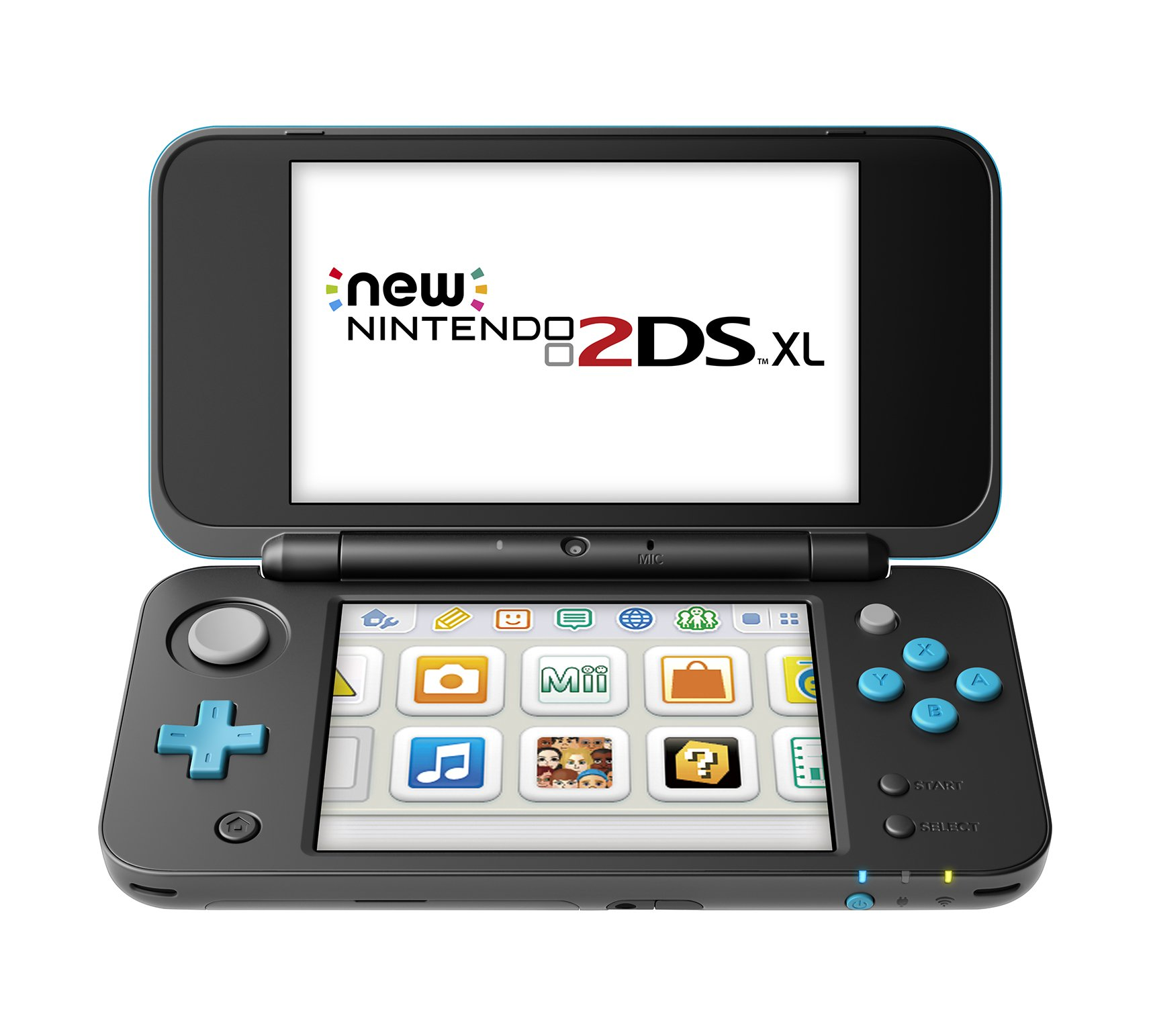 New Nintendo 2DS XL - Black + Turquoise With Mario Kart 7 Pre-installed - Nintendo 2DS by Nintendo (Image #2)