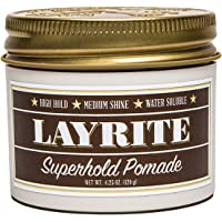 Layrite Superhold Pomade, Brown, 4.25 oz (120 g), (Pack of 1)