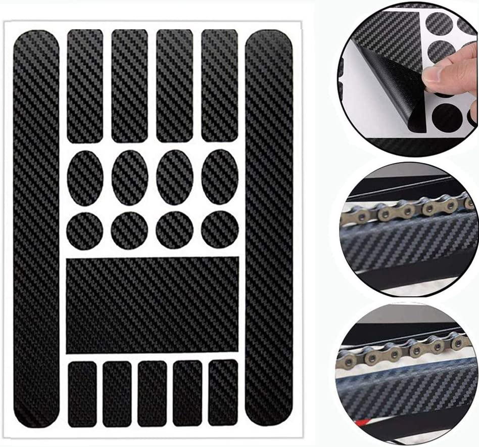 Bicycle Chain Protector Sticker Cycling Bike Folding Frame Front Fork Protective