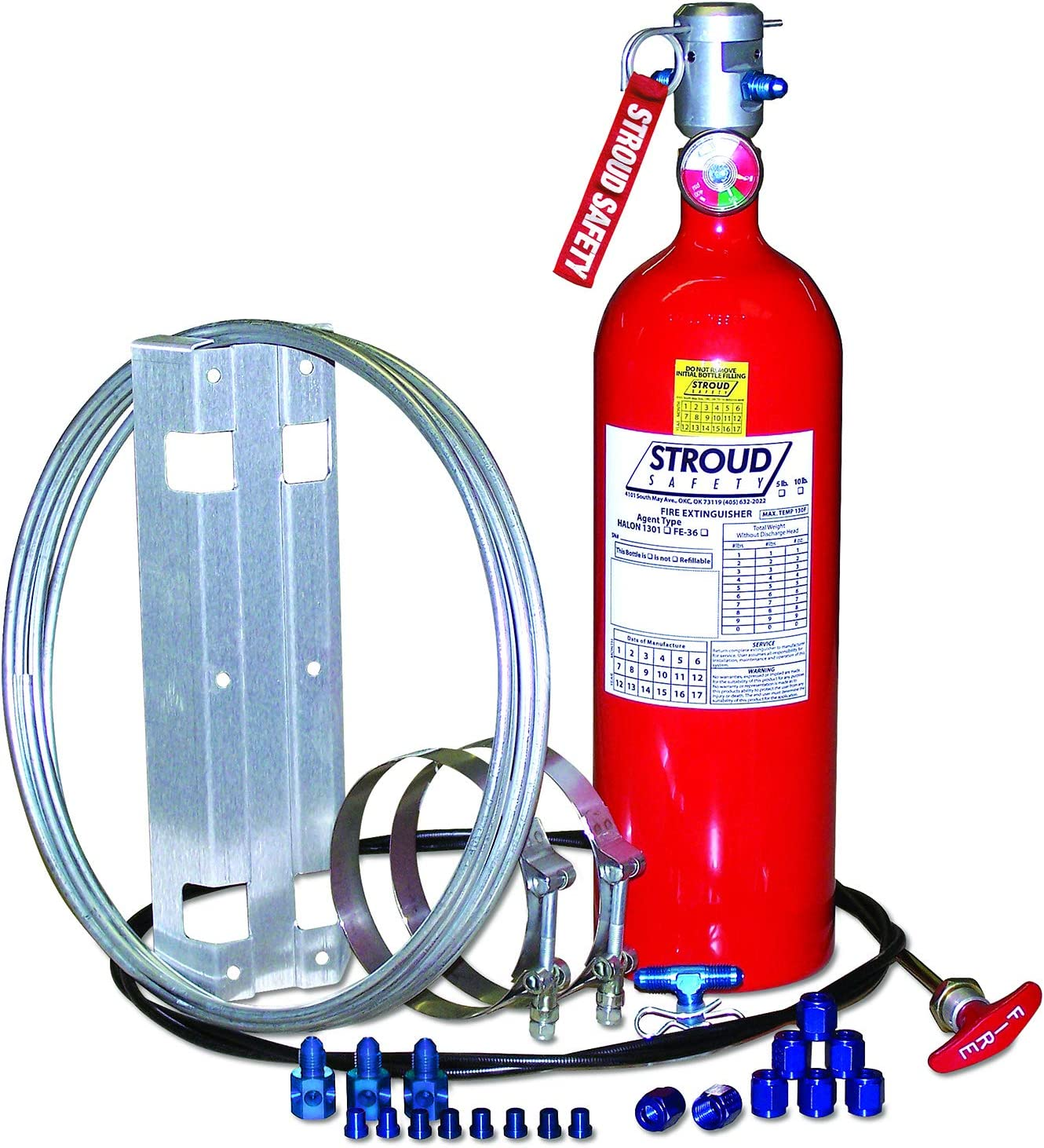 Stroud Safety 9302 5# FE-36 Fire Suppression System