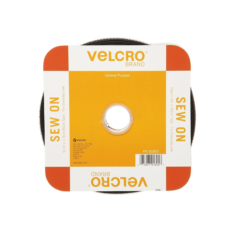 "Brand Fasteners VELCRO Brand Iron-On Tape 3//4/""X24/""-Beige r R Velcro"