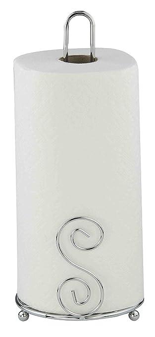 Amazon.com: Home Basics - Toallero de papel, gemelo: Home ...