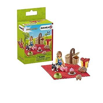 Schleich- Colección Farm World Figuras de Picnic de ...