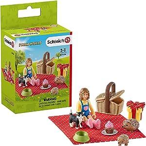 Amazon.com: Schleich Picnic Play Set de cumpleaños ...