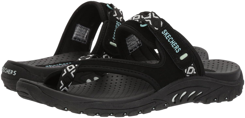 Skechers Reggae Trailway Womens Flip-Flop Sandals Slides -1382