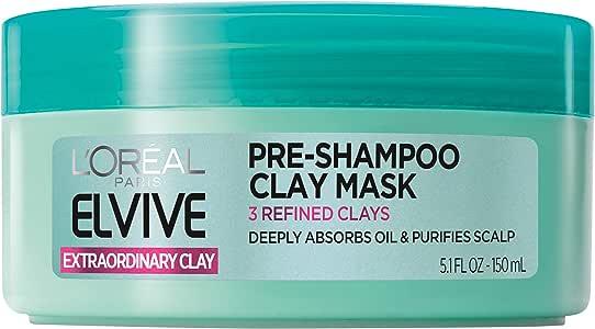 L'Oreal Paris Hair Care Expert Extraordinary Clay Pre-Shampoo Mask, 150ml