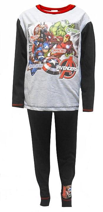 Marvel Avengers Incredible, Invincible Boys Cotton Pajamas