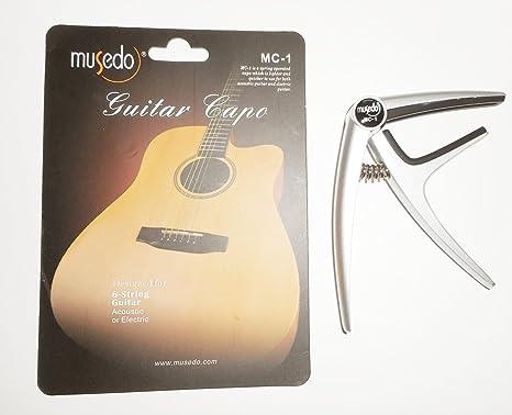 Cherub MC1 - Cejilla de guitarra: Amazon.es: Instrumentos musicales