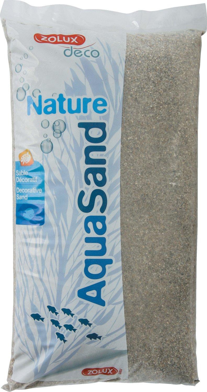 Zolux Gravier Naturel pour Aquarium Quartz Moyen DE 1, 5 à 2, 5 mm de Granulométrie 5 kg 346432