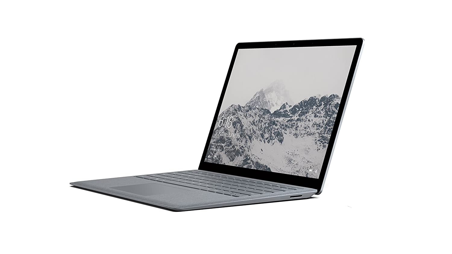 "Microsoft Surface Laptop 2.5GHz i5-7200U 13.5"" 2256 x 1504Pixel Touch screen Platino Computer portatile, Grigio [Tedesco]"