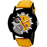 Golden Bell Analog Multi-Colour Dial Men's Watch-GB-148YDYStrap