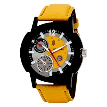 and watches men mens s spyder brand lamborghini by yellow chronograph stainless world shop black dial steel of