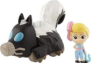 Mattel Disney Toy Story 4 Minifigura de Bo Peep con Vehículo Mofeta, Juguetes Niños +3 Años (GCY62)