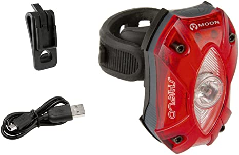 Luz Trasera Moon SHIELD-X USB Recargable 150 L Sensor ...