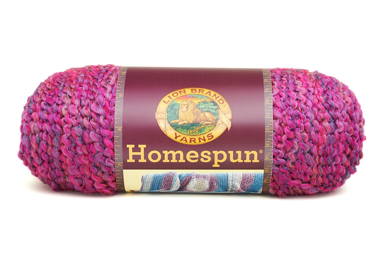 Amazon Lion Brand Yarn Lion Brand Homespun Yarn 418 Ambrosia