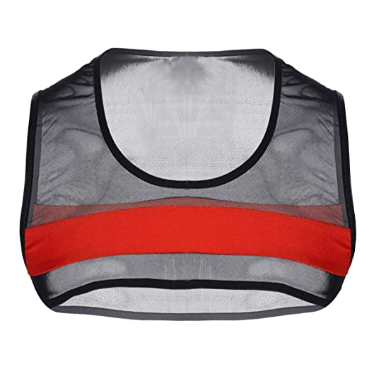 5414c345f Amazon.com: Agoky Men's Mesh See-Through Fishnet Crop Tank Top Sleeveless  Muscle Tops Vest Tee Shirts: Clothing