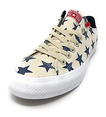 4cd9d05af501 Image Unavailable. Image not available for. Color  Converse Chuck Taylor II All  Star Low Oxford Sneaker Red ...