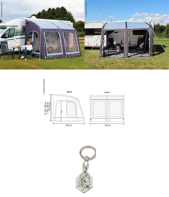 Zisa-Kombi 932988900083 Caravan - Carpa Hinchable (Apta para ...