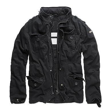 buy online 6d781 07c21 Golden Brands Selection Herren Übergangsjacke Vintage Outdoor Sommer Jacke  Army B32