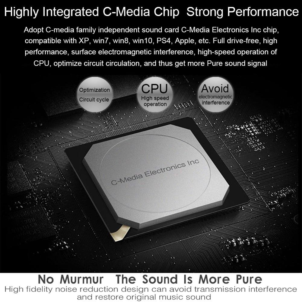 External Usb Audio Sound Card Adapter Virtual 71 Circuit Diagram Basic The Special Chip Driving High Fidelity Electronics