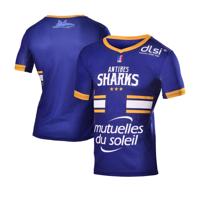 Antibes Sharks - Camiseta Oficial de Baloncesto para niño 2018 ...
