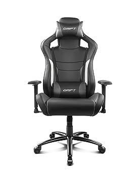 Amazon.com: Drift dr400bgy Gaming Chair – Black and Grey ...