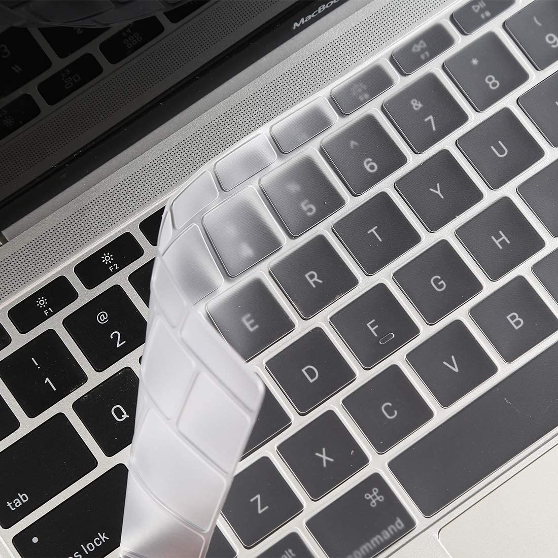 A1534 // A1708 Color : Black Black CellphoneMall Protectors Keyboard Protector Silica Gel Film for MacBook Retina 12 // Pro 13