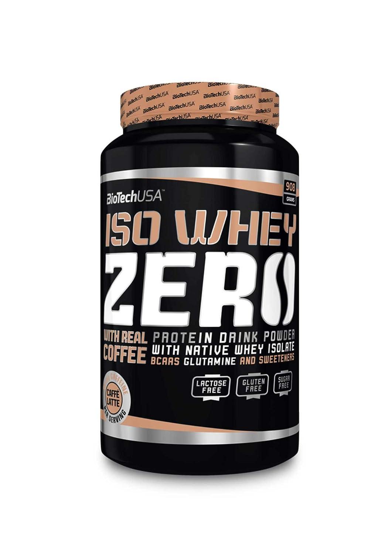 Biotech Isowhey Zero Lactose Free Proteínas Cereza y Plátano - 908 gr