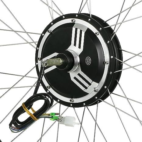Lixada 16 E-Bike Hub Conversión de Bicicleta de Motor Kit de ...