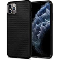Spigen Liquid Air Designed for iPhone 11 Pro Max Case Cover (2019) - Matte Black